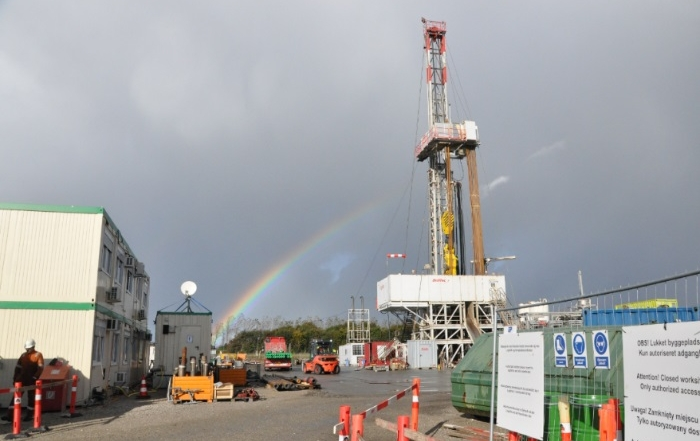 Danish geothermal well successfully completed