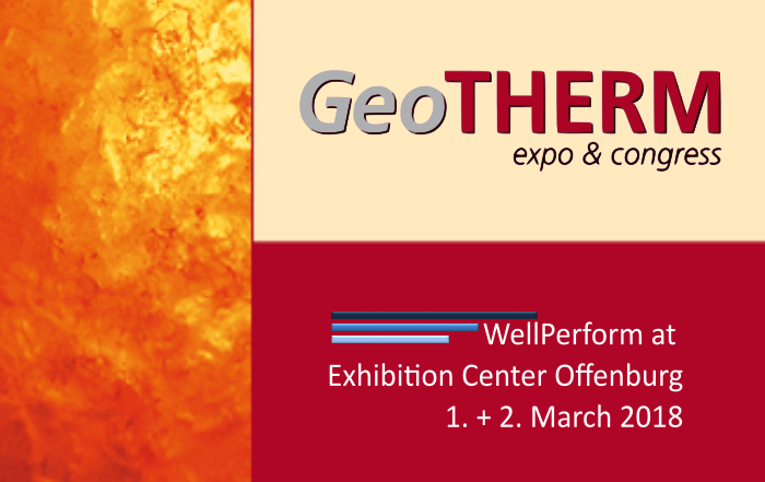 WellPerform Participates in GeoTHERM 2018