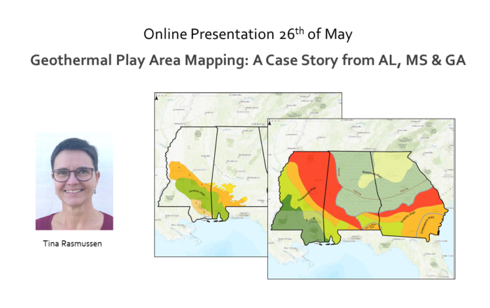 Online Presentation 26th of May – Geothermal Play Area Mapping
